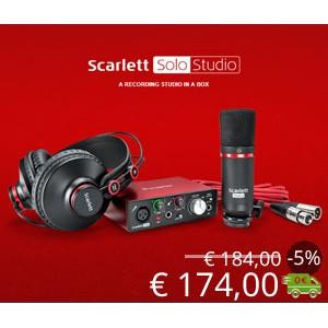 Offerta Scarlett Solo Studio